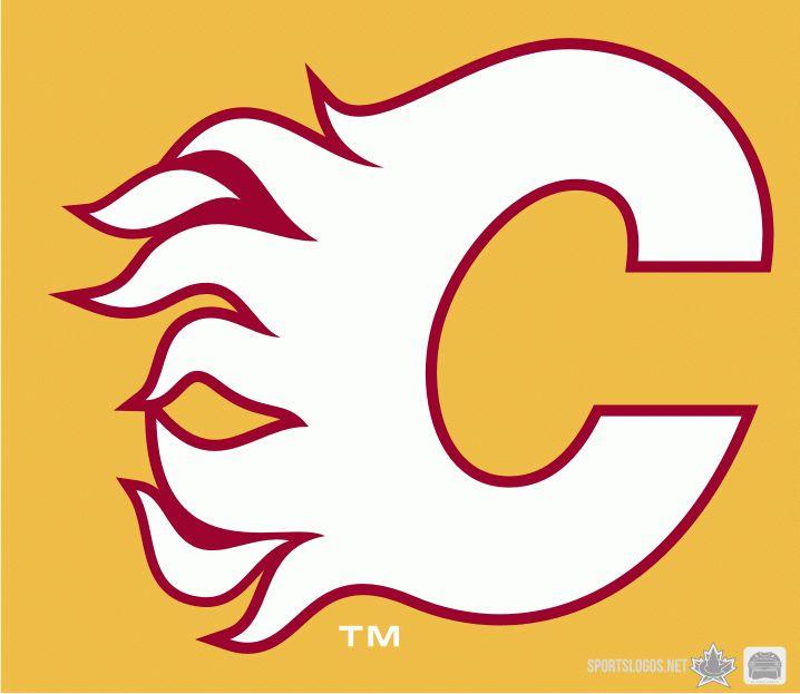 Calgary Flames alternate logo 2010