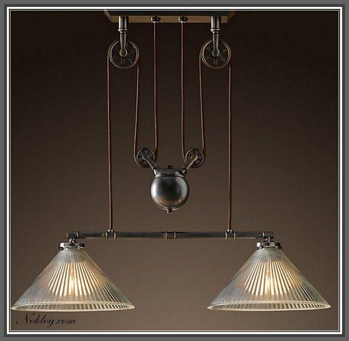 Lighting, Pulley Light, Restoration