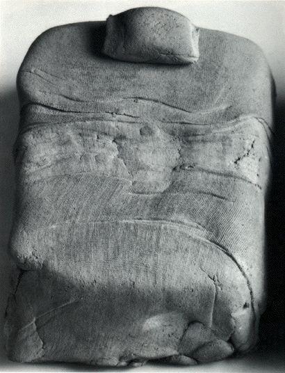 Costantino Nivola   ca.1961-1965 , Lettino vuoto, terracotta  http://www.webalter.it/immagini/nivola1.jpg
