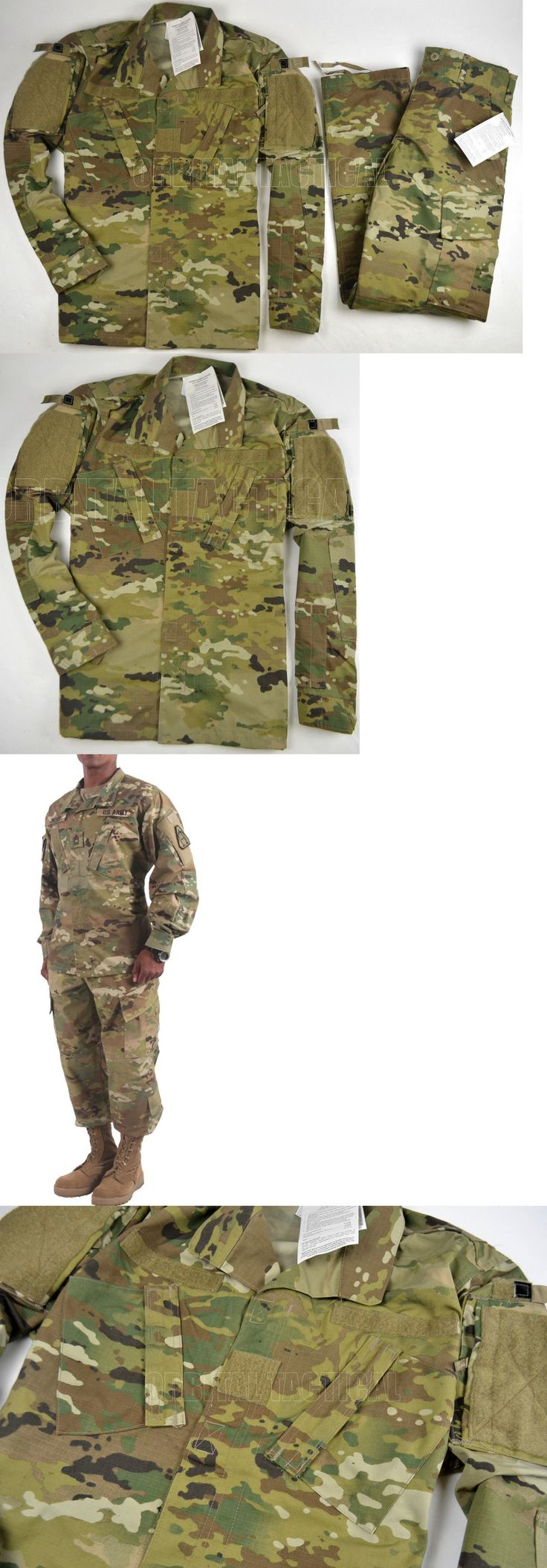 Tactical Clothing 177896: Scorpion W2 Camo Army Combat Usgi Military Ocp Uniform Jacket And Pants Set BUY IT NOW ONLY: $120.0