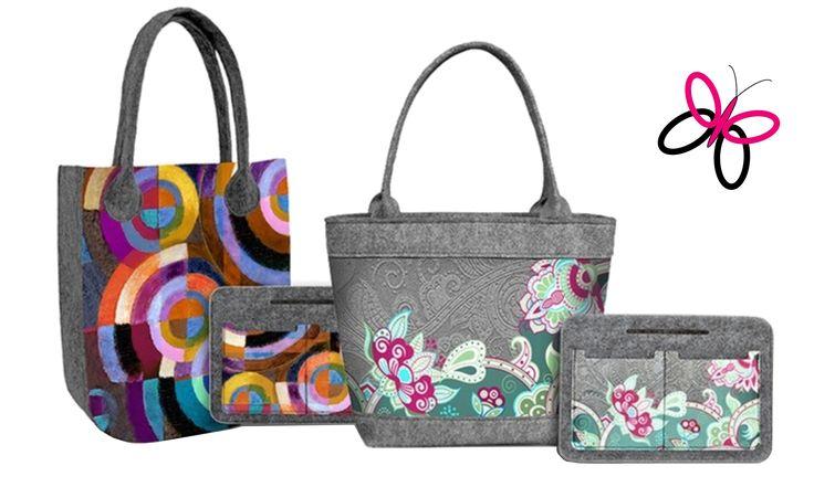 Designové filcové eco kabelky