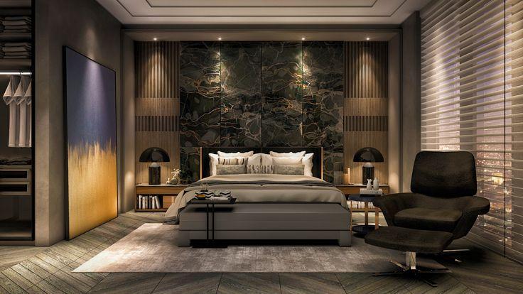 Master Bedroom, by mastaka studio