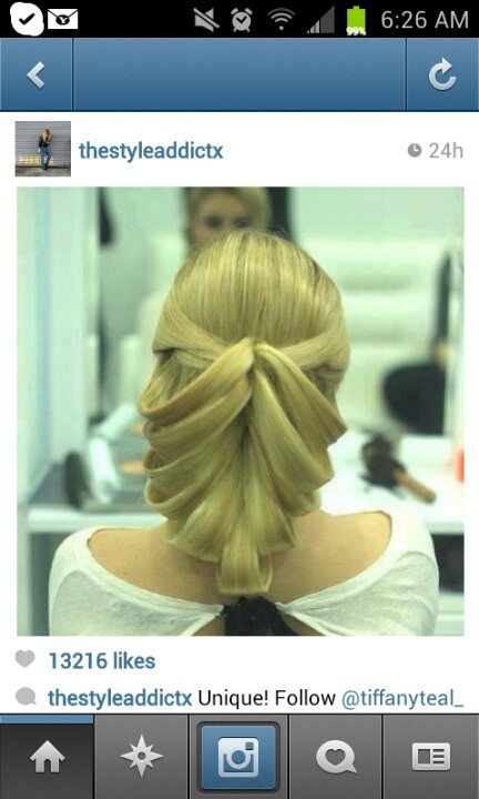 Thanks to #thestyleaddictx...for posting this unique hairstyle on Instagram!