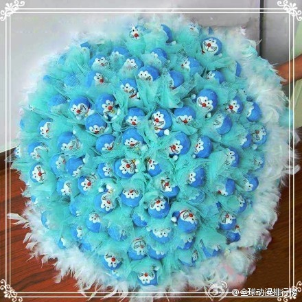 Doraemon bouquet