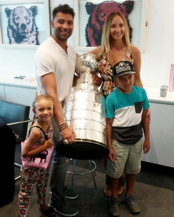 Trevor Daley's day with the cup 2017