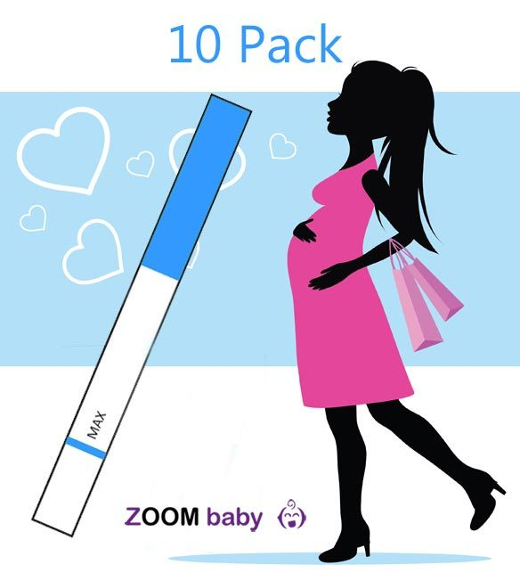 10 REGULAR Ovulation Tests + 2 FREE Pregnancy Tests - Zoom Baby - £4.95