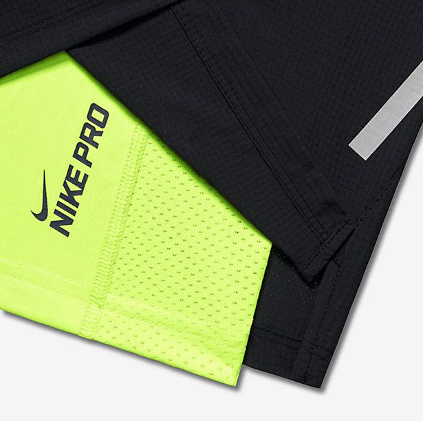"Shorts Nike 7"" PHENOM 2-IN-1"