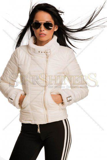 Geaca Mexton Trendy Appeal White