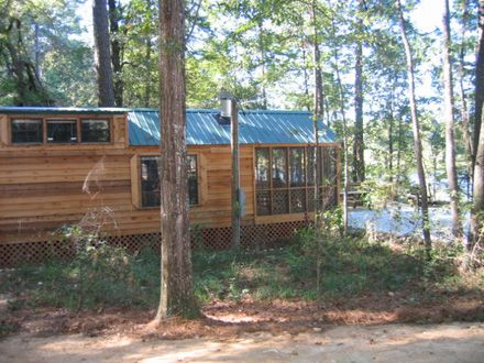 Cabins and lodge at three rivers state park sneads fl for Florida state parks cabins