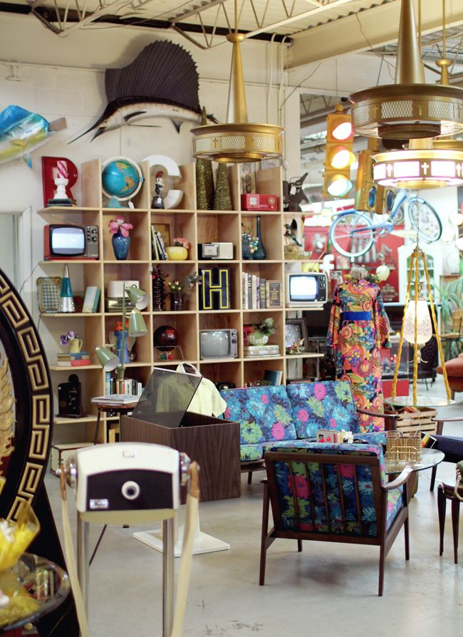 The Bomb Shelter- vintage and reclaimed industrial decor in Akron, Ohio