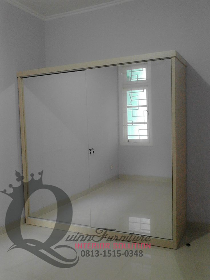 Lemari Sliding Minimalis 3 - Workshop Furniture