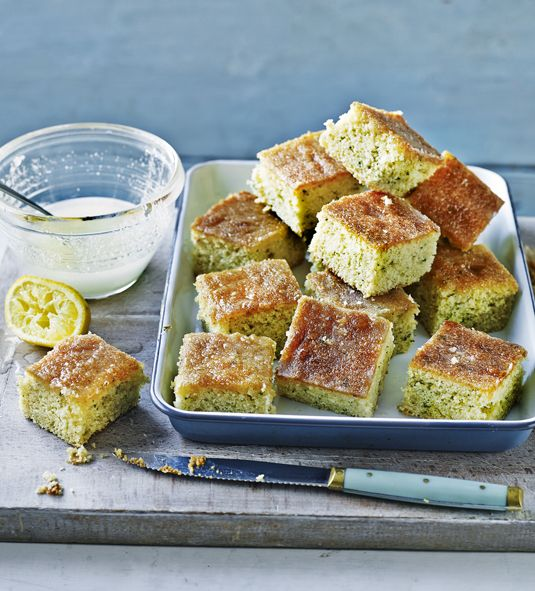 Mary Berry's lemon drizzle cake is the recipe she is most asked for when stopped in the street, so here it is!