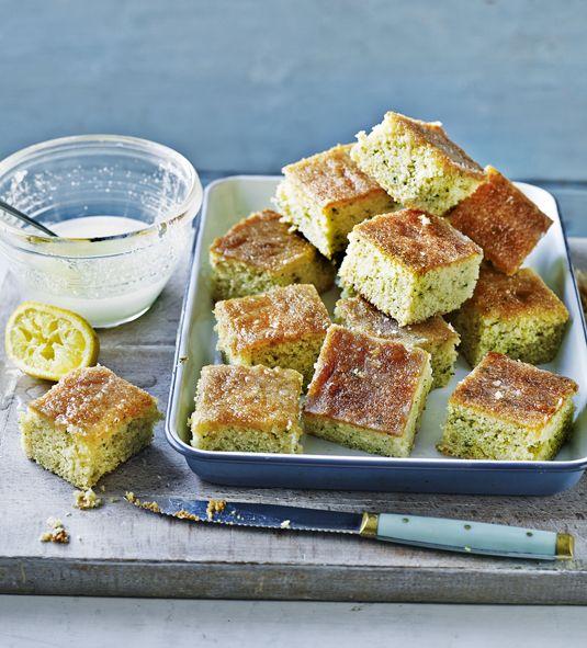 Mary Berry Lemon Drizzle Cake With Lemon Verbena