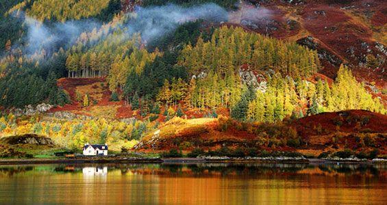 Skotska högländerna Road Trip