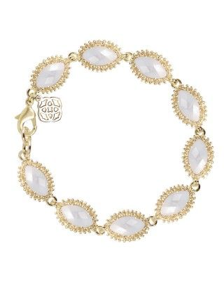 KENDRA SCOTT: Jana Bracelet in Ivory Pearl. Waiting for my birthday month for their great birthday discount!