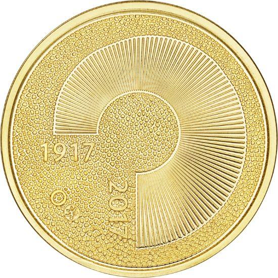 Itsenäinen Suomi 100 vuotta -juhlaraha, 100€, suomalainen kulta