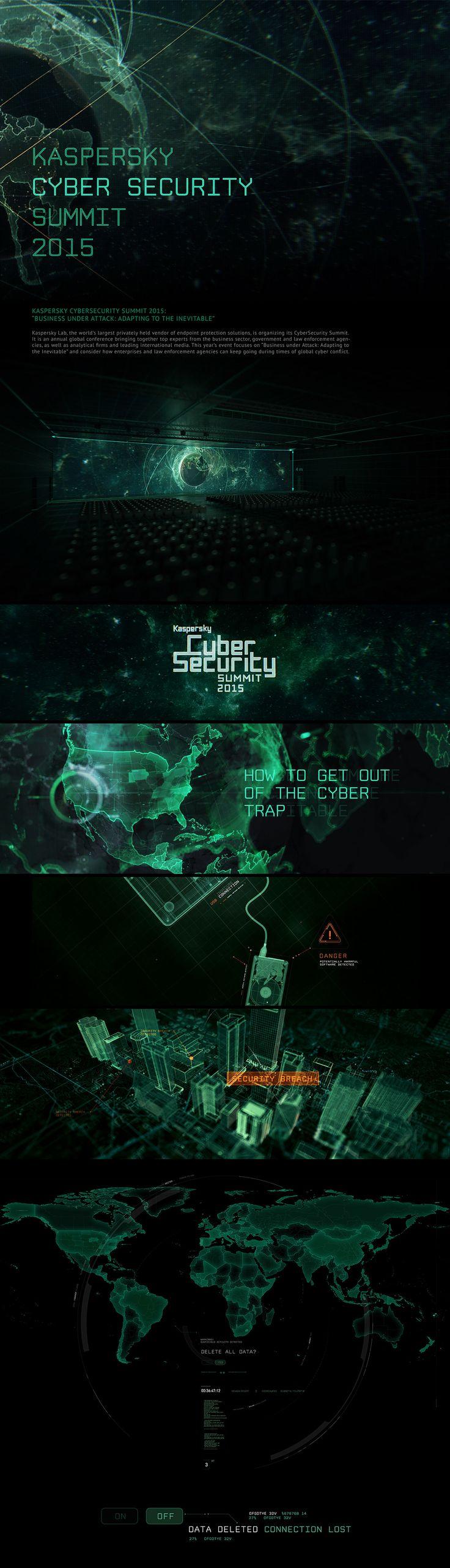 Kaspersky Cyber Security Summit 2015, 3D-graphics © АндрейСеркин