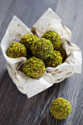 Date Pistachio Orange Truffles Recipes — Dishmaps