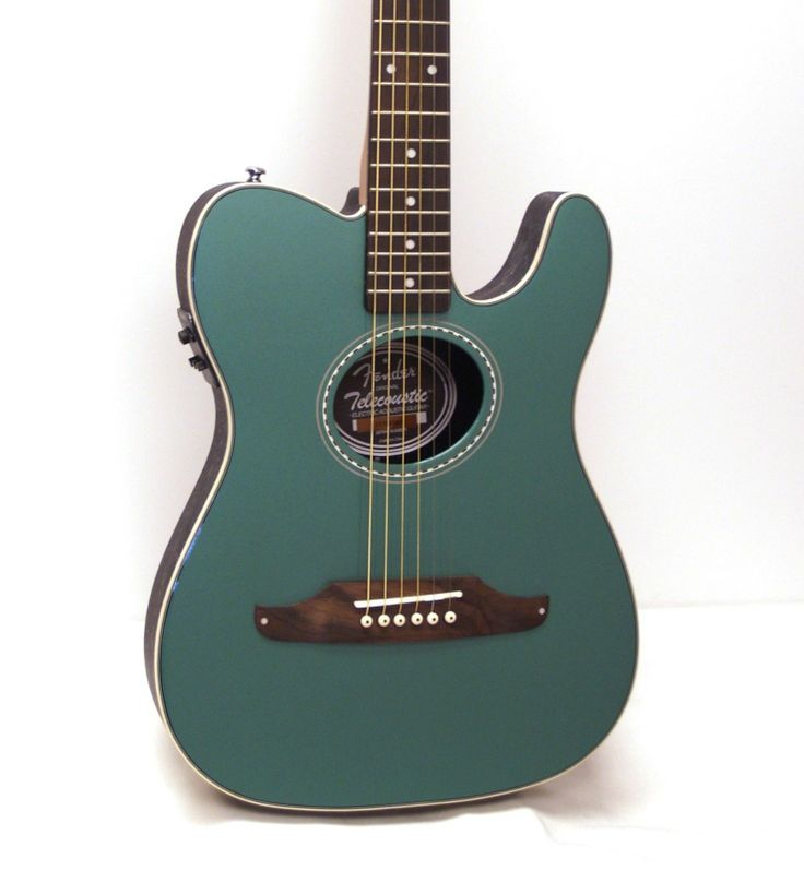 Fender Telecoustic Plus Acoustic Electric Guitar Sherwood Green