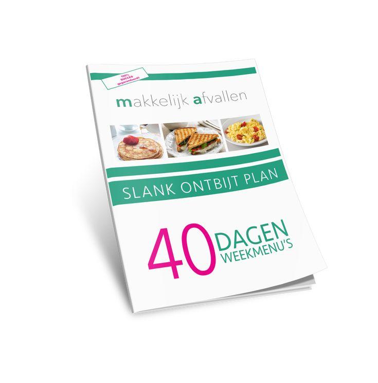 Slank Ontbijt Plan.  Afvalllen op een makkelijke manier? Dan is het slank ontbijt plan precies waar je naar op zoek bent.  Volg de ontbijtmenu's voor 40 dagen en activeer je vetverbranding.   Prijs: €9,95 en 100% afslankgarantie.