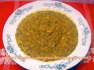 Φακόρυζο ή φακές με ρύζι σούπα