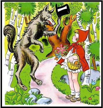 story sequencing cards little red riding hood
