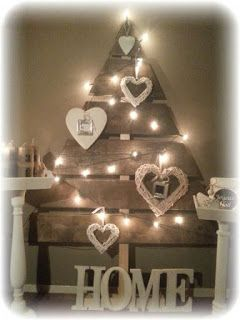 A Little Bit of This, That, and Everything: Christmas Tree Made From Pallets