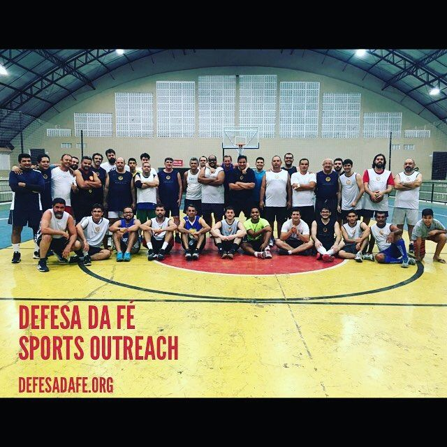 Defesa da Fé Sports Outreach  defesadafe.org  #sportsoutreach #basquete #basquetebol #esporte #igreja #defesadafe #mdfé #lycurgo