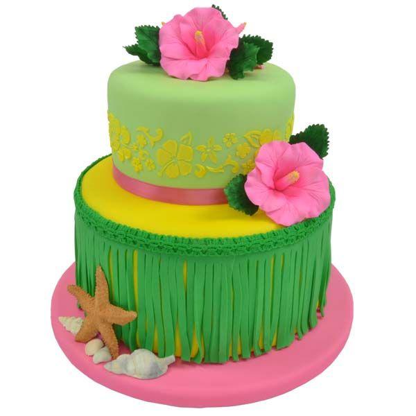 alexias possible Hawaiian Birthday Cake