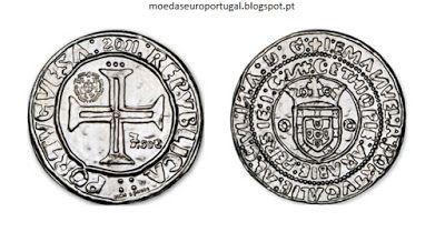 Moedas de Euro emitidas por Portugal: O Português de D. Manuel I - Valor 7.50€