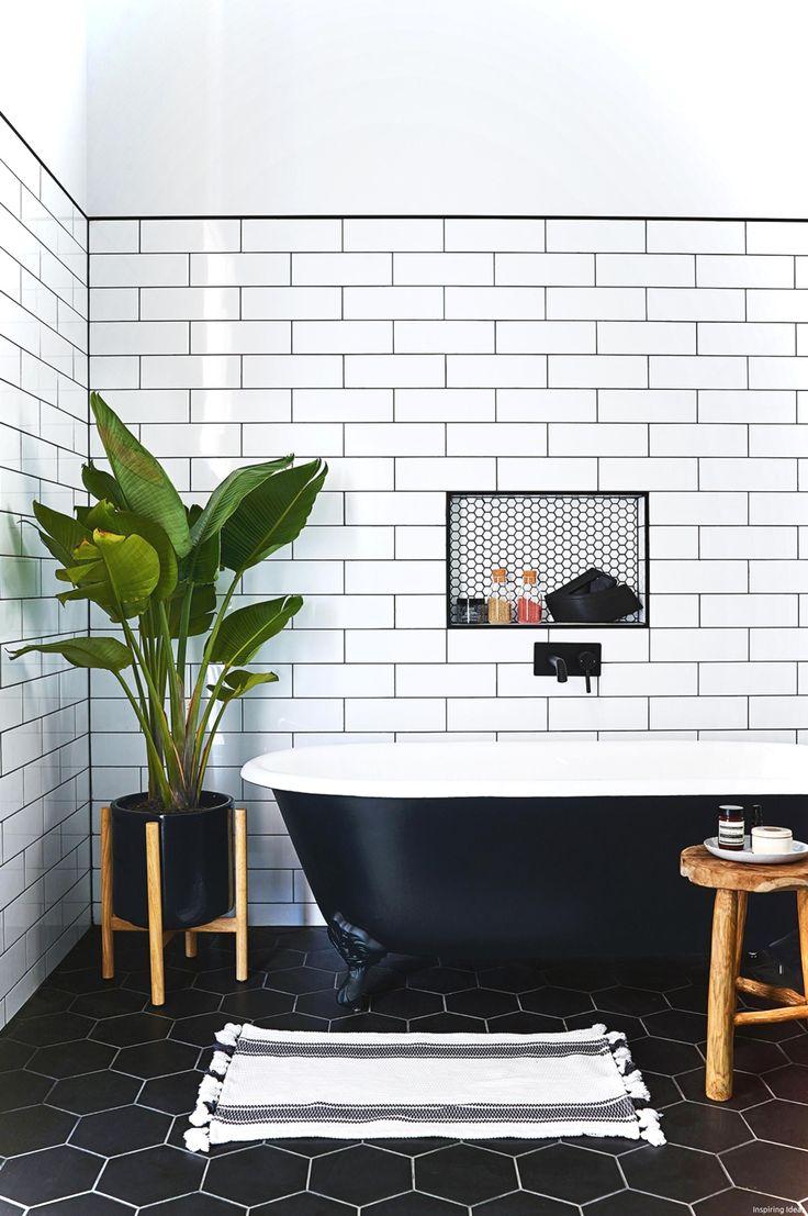 Best 25+ Black White Bathrooms Ideas On Pinterest White