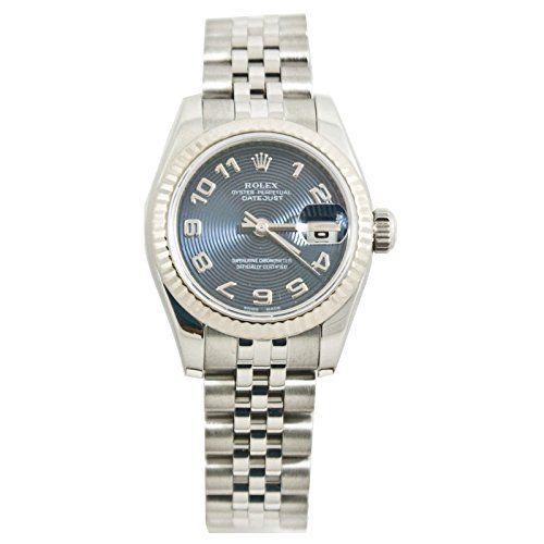 Rolex Datejust automatic-self-wind womens Watch 179174BLUCONARA (Certified Pre-o...