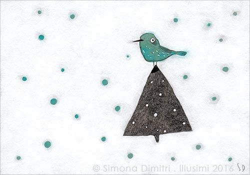 https://flic.kr/p/QdaJyp   snowflakes   mixed media on grey cardboard (15x11cm)   now available in my online shop www.illusimi.com/shop-fset.htm