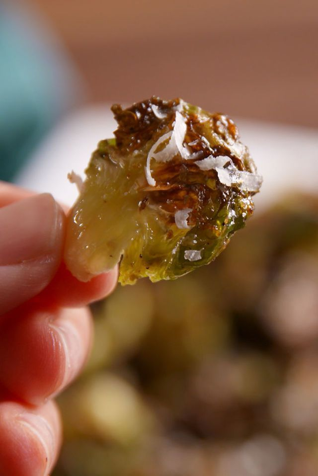 Brussels Sprout Chips  - Delish.com