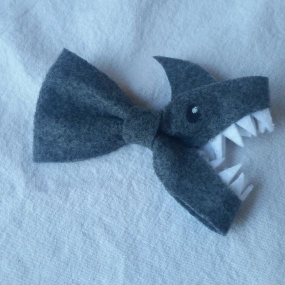 Shark Bow Made To Order by MJistheBOMB on Etsy