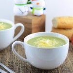 Enjoy this homemade broccoli cheddar soup that is sure to be a hit in your family!