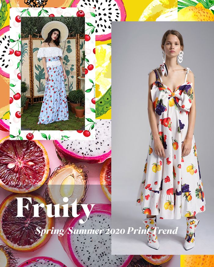Spring/Summer 2020 Print & Pattern Trend - Fruity ...