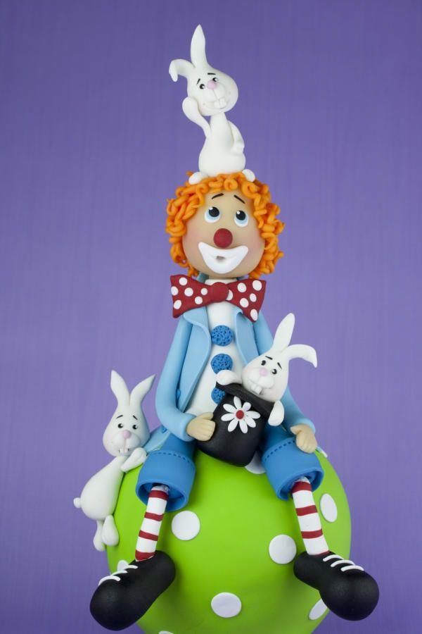 Clown+-+Cake+by+leonietje