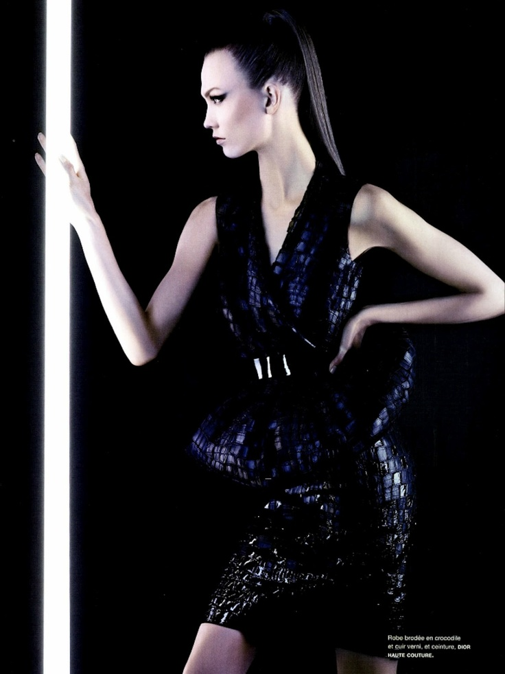neo couture | Karl Lagerfeld #photography | Numero 131 March 2012
