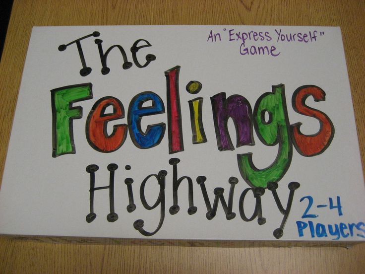 Two handmade counseling games (feelings, get to know you)