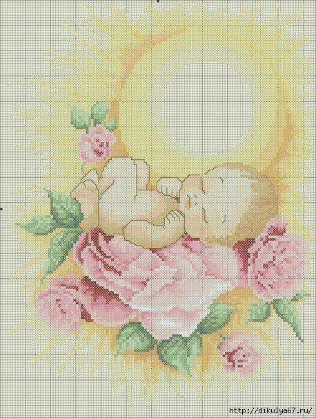 Ponto cruz bebê