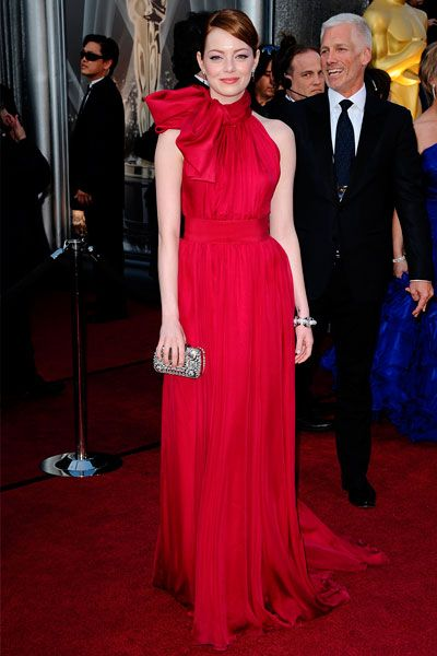 Emma Stone - Oscars 2012