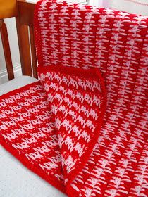 114 best crochet larksfoot houndstooth images on pinterest almost houndstooth stitch afghan pattern on rubymurraysmusing blog dt1010fo