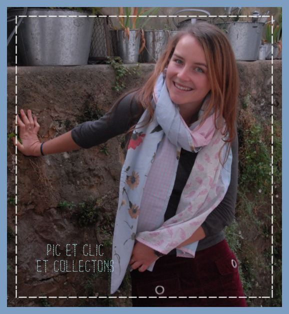 chèche foulard écharpe , 6 couleurs tendres ! : Echarpe, foulard, cravate par pic-et-clic-et-collectons