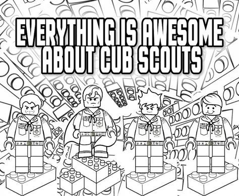 17 best images about gathering activities cub scouts on for Tiger cub scouts coloring pages