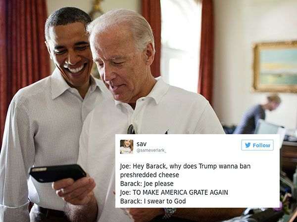 The best Obama and Biden post election memes from around the Internet (26 Photos) -      View as Slideshow              Well, that election sure was something huh?   And of all the reactions to the post election furore, Barack Obama a...