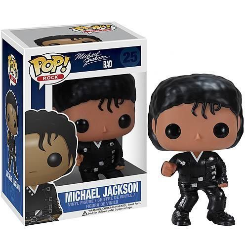 MICHAEL JACKSON BAD Funko Pop! Rocks - Vinyl Figure
