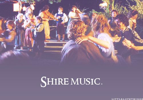 Shire music is what brings out the most emotion in me. I've loved it my entire life. If only there was a band that played music like this...