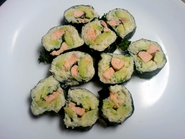 how to make spam sushi