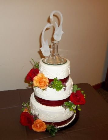 10 Best Glass Cake Toppers Images On Pinterest